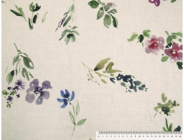 Linen 3418/1 Uve L491 DP SW HOME DECOR FABRICS