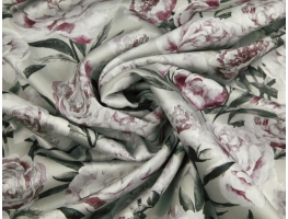 Sateen 3177/3 Pionies small HOME DECOR FABRICS