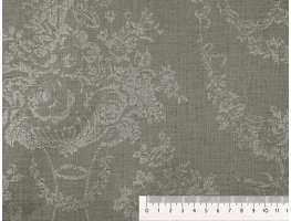 Linen 6218/4 Rocaille L491 HOME DECOR FABRICS