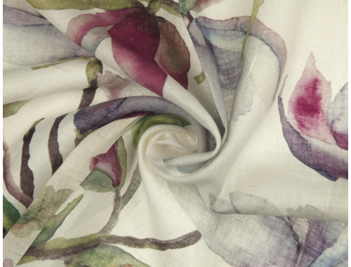 Linen 2110 Magdalena L491 DP  HOME DECOR FABRICS